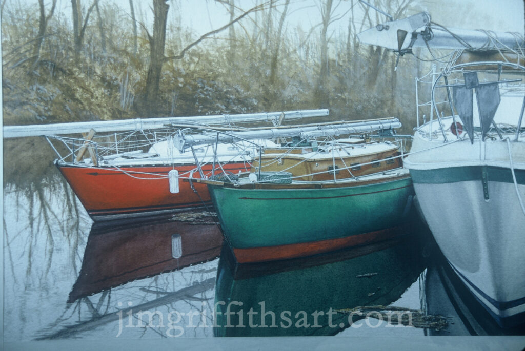 Watercolors by Griffiths